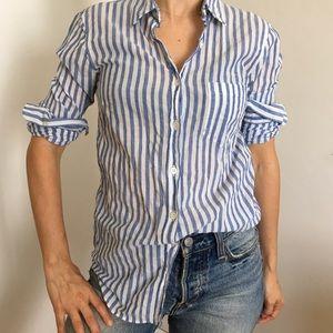 J. crew striped boy shirt